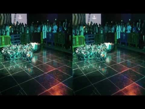 Robotic Snake @ Google I/O party (YT3D:Enable=true)