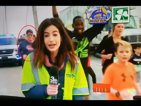 Georgia man Tommy Callaway identified as runner who slapped TV anchor (Video) Any Articles News