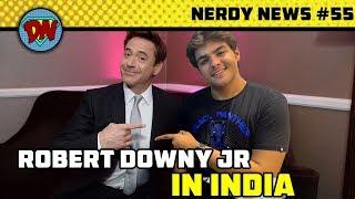 End Game Ticket Booking, RDJ India, MCU Phase 4, Joker New Look, Disney Plus | Nerdy News #55