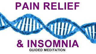 Guided meditation deep sleep and relaxation, nighttime hypnosis for pain relief
