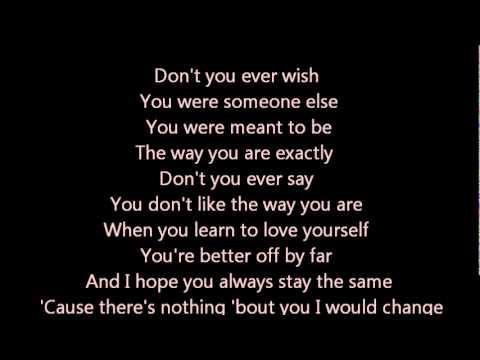 Joey Mcintyre - Stay The Same Lyrics