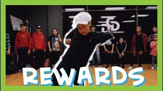 REWARDS by Dawin | Aidan Prince | Choreography by @officialvicktory &  @Jennneg