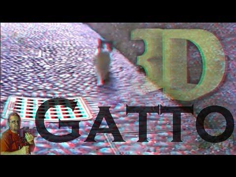 3D - Gatto 3D