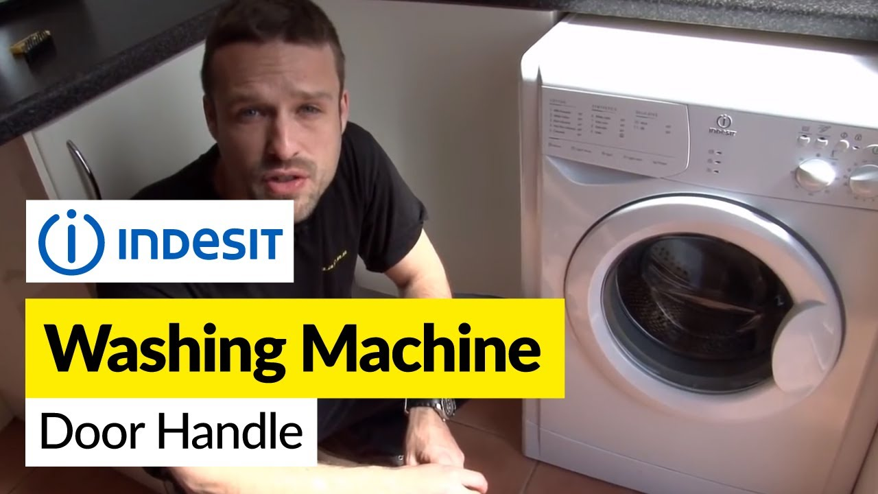 How To Replace A Washing Machine Door Handle On An Indesit