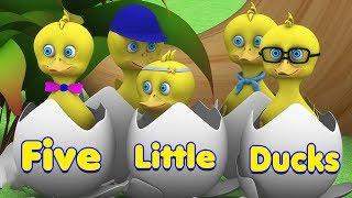 Lima Bebek Kecil | Lagu Anak | Lagu Anak Terpopuler | Five Small Ducks | Kids Tv Indonesia
