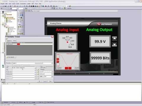 Unitronics PLC Tutorial Videos – Analog I/O