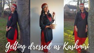 Kashmiri Style | How to get dressed as Kashmiri | Kashmiri Pehran | Fancy dress Ideas | Phiran