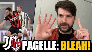 Disgustosi. Largo ai giovani (e al futuro in Europa League) // Pagelle Juventus Milan 0-3