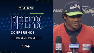 Quarterback Russell Wilson Wild Card Press Conference | Seahawks 2019
