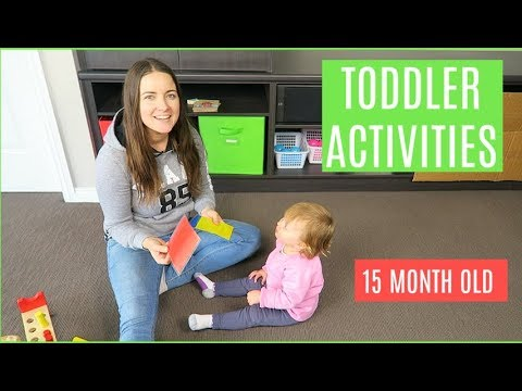 WHAT ACTIVITIES MY TODDLER DOES IN A DAY | 15 MONTH OLD