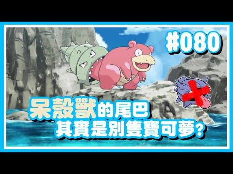 寶可夢|#080 呆殼獸尾巴上的不是大舌貝而是別隻寶可夢?!【Poke夢+】