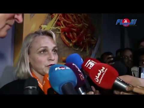 وزيرة الفلاحة الهولندية تتحدث عن اتفاقيات شراكة مع أخنوش في معرض الفلاحة بمكناس