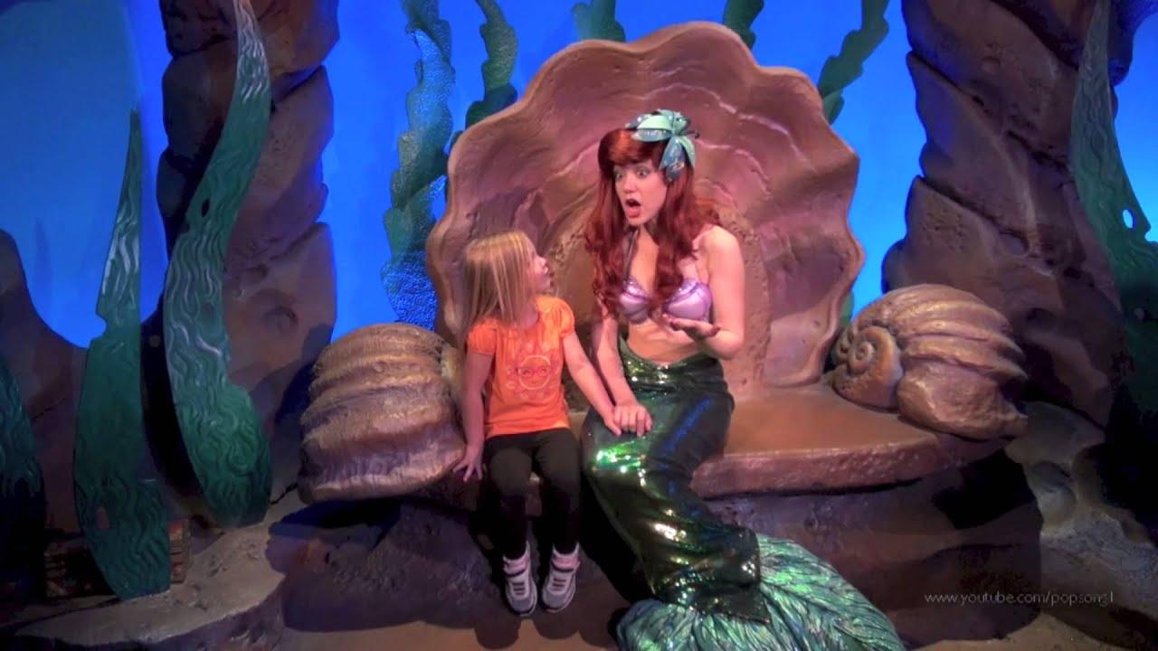ariel meet and greet new fantasyland