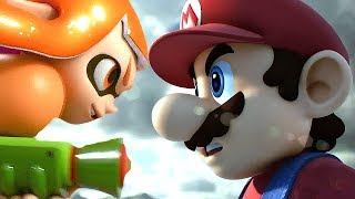 Super Smash Bros Ultimate Switch & WII U All Cutscenes Movie All Character Trailers + Mario Kirby