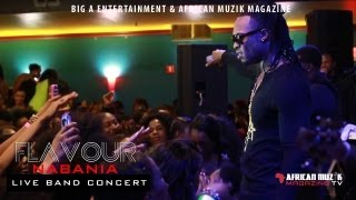 Flavour N'abania Maryland DMV Live Band Concert - 2013 US Tour Episode 3