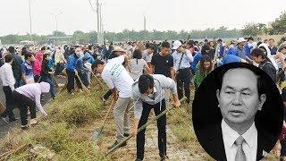 Dân Kim Sơn gấp rút chuẩn bị để rước Chủ tịch nước về lại quê hương