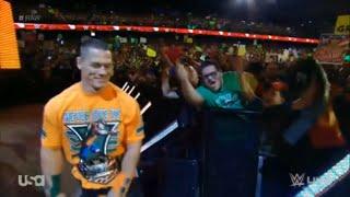 """John Cena Sucks!"" Sing Along in Chicago on RAW 10/12/15"