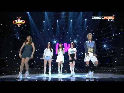 [130807] F(x) - Rum Pum Pum Pum @ MBC Show Champion