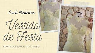 VESTIDO DE FESTA - DIY - MODA DRESS AULA 6