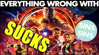"""Everything Wrong With """"Avengers: Infinity War Sucks!"""" (Spoilers)"""