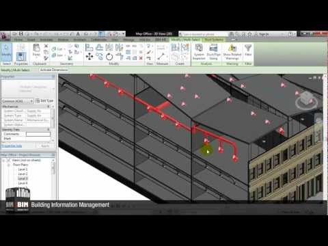 Revit Plugin That Automatically Distributes Support Elements For Ducts And Pipes-From BIM-ME.wmv