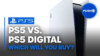 PS5 vs PS5 DIGITAL EDITION: Which Will You Buy? | PlayStation 5