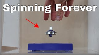 Will a Levitating Gyroscope Spin Forever in a Vacuum Chamber?