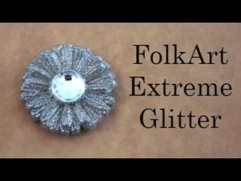 FolkArt Extreme Glitter