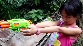 Tony | Đập Hộp Đồ Chơi SÚNG NERF - NERF GUN ZOMBIE
