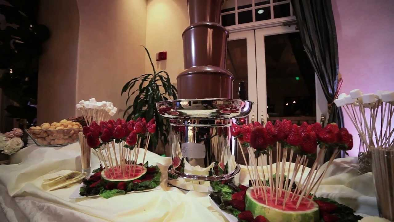 Chocolate Fountain Rental In Los Angeles 310 209 8478