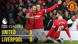 Manchester United 3-0 Liverpool (14/15) | Premier League Classics | Manchester United