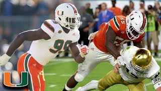 The Miami Hurricanes Destructive Defense