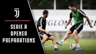 CR7 BACK TO TRAINING | JUVENTUS PREPARE FOR PARMA
