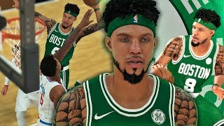 NBA 2K18 MyCAREER - DESTROYED DEANDRE JORDAN! EXPOSED AUSTIN RIVERS! Triple Double Performance!