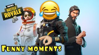 Throwback to the old fortnite... | funny montage