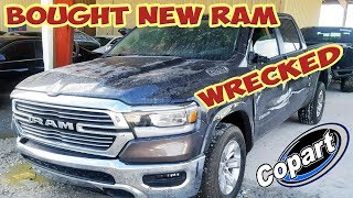 We Bought a 2019 New RAM Wrecked from Copart! Rebuilding it! (Part 1)