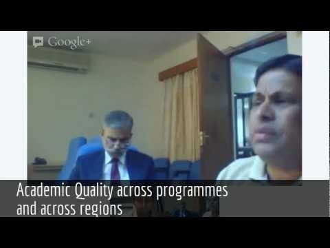 InsideIIM.com's Hangout with Director of IIM Indore - Prof.Ravichandran - Part I
