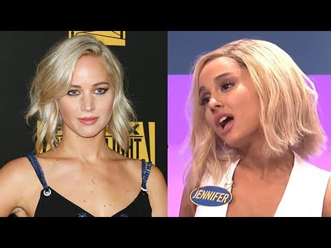 Jennifer Lawrence Reacts To Ariana Grande's Impression Of Her & Dishes On BF