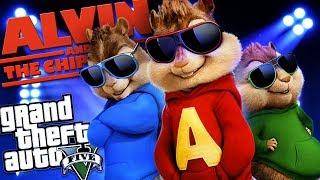 GTA 5 Mods - ALVIN AND THE CHIPMUNKS GO ON TOUR MOD w/ ALVIN, SIMON & THEODORE (GTA 5 Mods Gameplay)