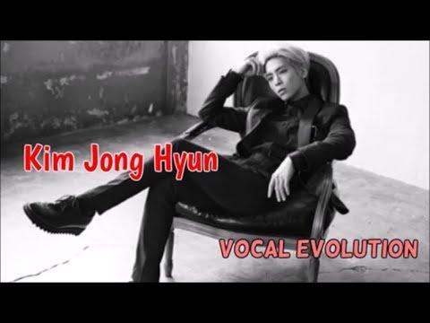 Kim Jong Hyun VOCAL EVOLUTION 2008-2016