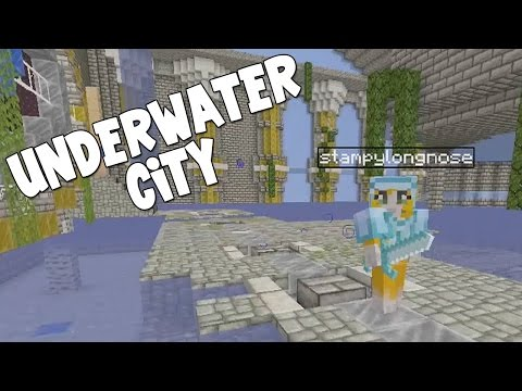 Minecraft Xbox - The Forgotten Vale - Underwater City! [6] - iBallisticSquid  - mniMqvYPQEc -