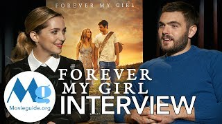 FOREVER MY GIRL Interview: Jessica Rothe & Alex Roe