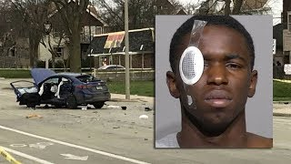 18-year-old charged in pursuit, crash; 14-year-old in triple shooting that preceded it