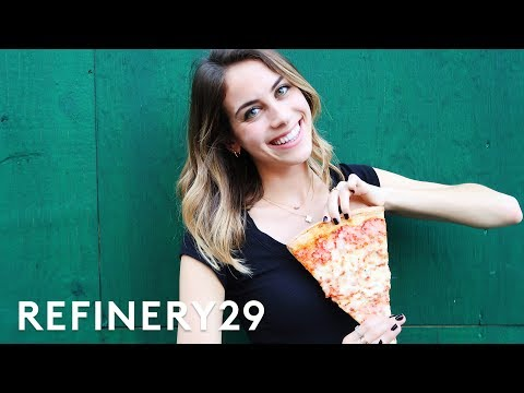 5 Days Of Only Eating Pizza | Try Living With Lucie | Refinery29