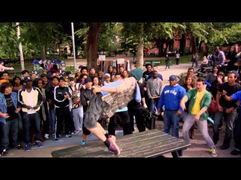STEP UP 3D Moose en el parque latino