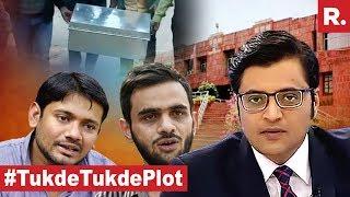 Republic TV EXPOSES #TukdeTukdePlot | The Debate With Arnab Goswami