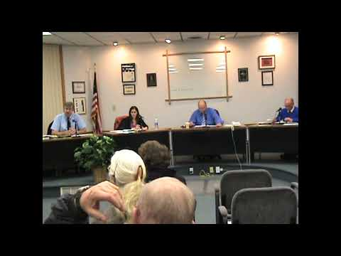 Rouses Point Village Board part one  11-5-12