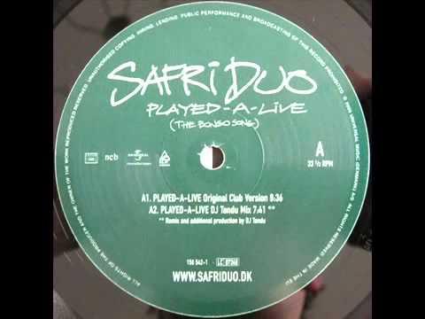 Safri Duo - Played A Live [Original Club Mix]