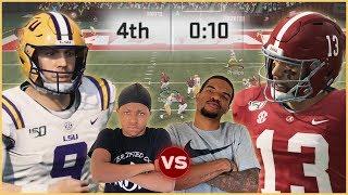 NCAA 20 College Football - Who's The True Heisman?! Tua vs Burrow In A Shootout!
