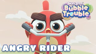 Angry Birds Bubble Trouble - 19  Angry Rider
